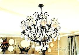 laurenza chandelier designs chandelier design home decor add a trendy touch to plain shades by painting