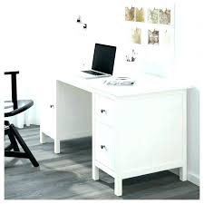 home office desk white. Brilliant Home Narrow White Desk With Drawers Writing Corner  Home Office Uk  For