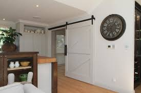 barn door to scullery