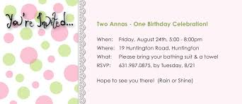 year old birthday party invitation ideas year old birthday party invitations to inspire you how to