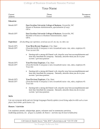 College Student Resume Format Gorgeous Resume Format For Internship With No Experience Save College Student