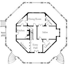 hexagon shaped house plans