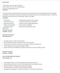 Sample Daycare Resume 8 Examples In Word Pdf