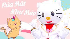 Meo Meo Meo, Chú Mèo Rửa Mặt - Nhạc Thiếu Nhi Rửa Mặt Như Mèo - YouTube