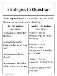 Strategy Presentation Reciprocal Teaching Strategy Presentation Student Handouts