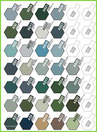 Tamiya Polycarbonate Paint Chart 77 Exhaustive Tamiya Model Paint Chart