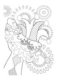 Small Picture Little Kid Acting Like Jester on Mardi Gras Coloring Page