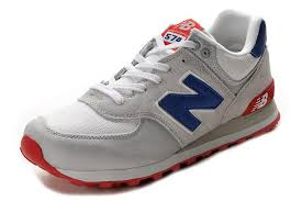 new balance shoes red and blue. new balance nb ml574cvy classic grey blue red for men shoes and