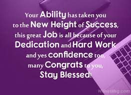congrats on the new job quotes best wishes for new job congratulations messages for new job
