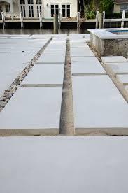 backyard concrete paver update pavers