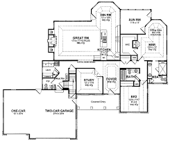 Story House Plans With Basement   One Story Ranch House Floor     Story House Plans With Basement   One Story Ranch House Floor Plans