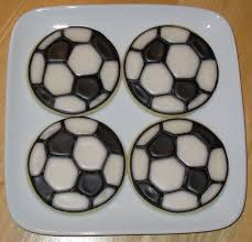 Soccer Ball Icing Decorations Doodlebug Cookies Soccer Ball Cookie's for Jake's Bar Mitzvah 72