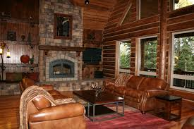 California Log Home Kits And Pre Built Log Homes Custom Interior - Custom home interiors