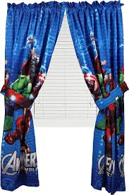 avengers marvel assemble window panels curtains ds set of 2 ca home kitchen