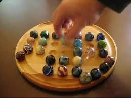 Game With Rocks And Wooden Board Marble Solitaire Hardwood Game Board YouTube 77