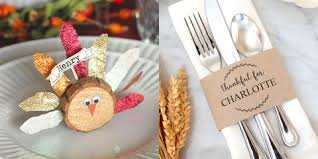 Fall Place Cards 15 Diy Thanksgiving Place Cards Craft Ideas For Fall Table
