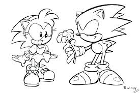 Sonic X Coloring Pages Trustbanksurinamecom