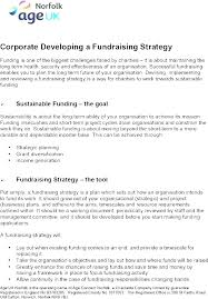 Fundraising Plan Template Learning Fundraising Strategic Plan Fundraising Strategic