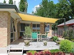 fabric patio shades. Exellent Patio Petrau0027s 20 Ft X Square Sun Sail Shade Durable Woven Outdoor On Fabric Patio Shades R
