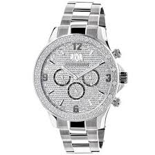 cheap diamond watch men diamond watch men deals on line at get quotations · mens diamond watches luxurman midsize watch 0 2ct
