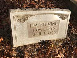 Ida Fleming (1876-1948) - Find A Grave Memorial