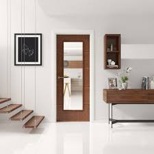 interior clear glass door. Exellent Interior Ravenna Walnut PreFinished Internal Door With Clear Glass Lifestyle  Roomshot  With Interior