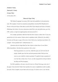 cover letter essay in mla format example research paper in mla cover letter cover letter template for mla format sample essay essayessay in mla format example