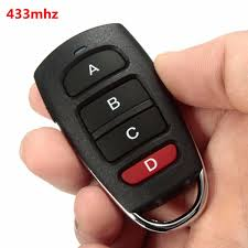 key fob garage door openerGarage Opener MATCC Universal 4 Buttons Cloning 433mhz Electric