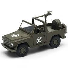 Игрушка <b>Welly</b> 99199 <b>Военный автомобиль</b> с пулемётом ...