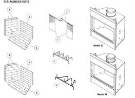 mendota fireplace parts gas fireplace replacement parts replacement