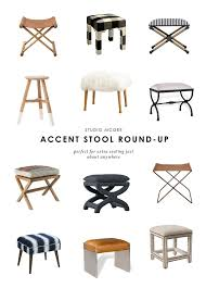 10 Accent <b>Stools</b> To Fill Any Space | Studio McGee Blog | <b>Living</b> ...