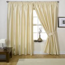 Silk Curtains For Living Room Silk Curtains For Classy And Formal Setting Of Living Room