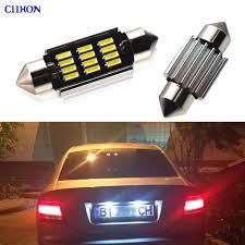 <b>2pcs</b> C5W W5W BA9S Car LED Light <b>31mm 36mm</b> 39mm 41mm ...
