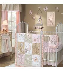 baby girl nursery bedding purple lambs ivy fawn 5 piece crib set 9