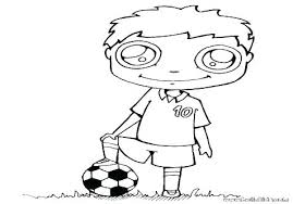 Soccer Coloring Pages Messi For Kids Player Jadoxuvaletop