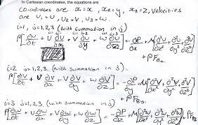 navier stokes equations navier stokes cartesian math3402owenbye fluid dynamics page 2