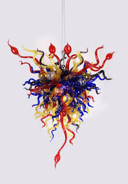 dale chihuly style chandelier designs