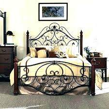 wrought iron bed frame queen.  Bed Rod Iron Picture Frame Bed Queen Wrought Frames  Cast  Throughout Wrought Iron Bed Frame Queen O