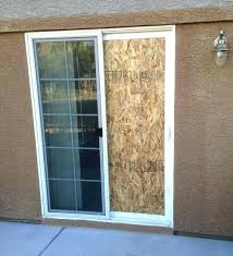 cost to install new sliding glass door patio door installation cost how to frame a sliding