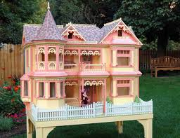 Victorian Barbie Doll House Woodworking Plan - House Plans | #13119
