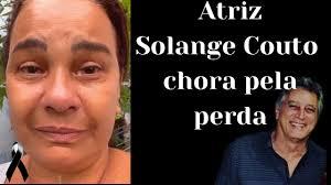 Atriz Solange Couto chora a morte do amigo Eduardo Galvão - YouTube