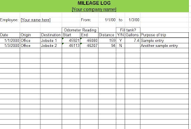Mileage Report Templates Fuel Log Book Format Free Wiring Diagram For You