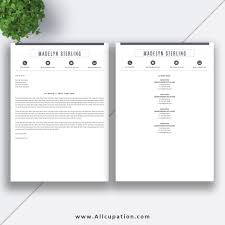 Www Allcupation Com Resume Templates Imagesmadelyn Cover