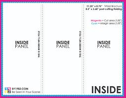 Tri Fold Brochure Format Magdalene Project Org