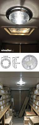 erickson horizontal e track zinc coated steel lbs  brighten up your enclosed trailer a new dome light leds make great replacements for