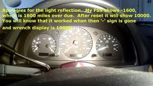 Ml320 Service Light Reset W163 Mercedes Benz Ml Class Fss Service Light Reset Video