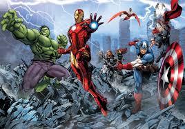 Marvel Avengers Fotobehang Behang Bestel Nu Op Europostersnl