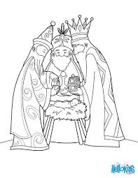 Small Picture The three wise men and baby jesus coloring pages Hellokidscom