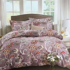 lencho multi color double bedding set