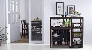 Living room bars furniture Wine Bar Rufus Bar Unit With Trolley 02 Bar Unit And Stools L2 Urban Ladder Bar Furniture Urban Ladder